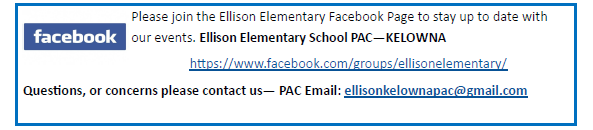 PAC Facebook Page
