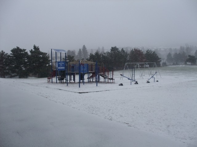 Winter has arrived at Ellison Elementary!